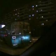 Омский троллейбус сбился с пути
