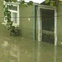 В Омском районе подтопило 10 жилых домов
