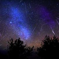 Омичи смогут наблюдать метеоритный дождь