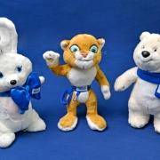 Болельщики  купили около миллиона Олимпийских мишек