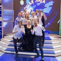 """""""Омичи"""" добрались до 1/4 финала Высшей Лиги КВН"""