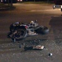В Омске на Кирова 22-летний водитель «ВАЗа» сбил мотоциклиста