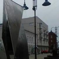 На улице Чокана Валиханова включили зеркальные фонтаны