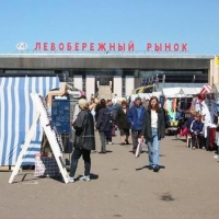 Из-за строительства метро планируется снос 26 киосков на Левобережном рынке