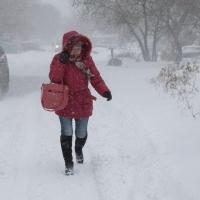 В понедельник Омск атакуют метели и снегопады