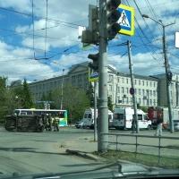 В ДТП в центре Омска пострадал ребенок