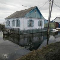 Улицы Называевска в Омской области уходят под воду