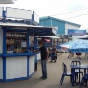 Остановку «Торговый город»  очистят от павильонов