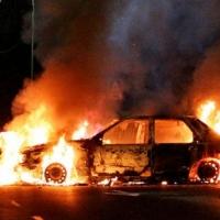 Омские школьники угнали и сожгли Volkswagen Passat