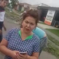 В Омске молодого человека сбили и избили на пешеходном переходе (видео)