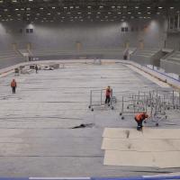 Строители сказали Буркову, когда доделают хоккейную академию «Авангард»