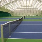 Теннисный корт международного уровня появится на левом берегу