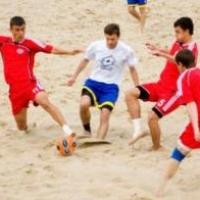 Омичи определят лучших спортсменов на пляже