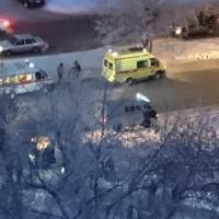В Омске на пешеходном переходе иномарка сбила пожилого мужчину