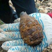 Омичка нашла на даче снаряд времен Гражданской войны