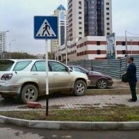 В Омске начались рейды ГИБДД по соблюдению правил парковки