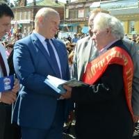 Виктор Назаров поучаствовал в 423-й годовщине Тары