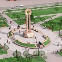 На площади станции «Калачинская» появится стела высотой 13,5 метров