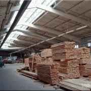 В Тюкалинском районе заработал новый деревообрабатывающий комплекс