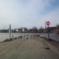 Движение ограничено на подтопленных дорогах в Большеуковском и Усть-Ишимском районах Омской области