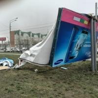 Омская полиция подсчитала ущерб от урагана