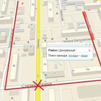 С 14 июля в Омске запретят выезд транспорта с улицы Степана Разина на Ленина