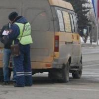 В Омске поймали пьяного водителя маршрутки