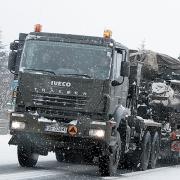 """На трассе """"Омск-Тюмень"""" автобус столкнулся с грузовиком"""