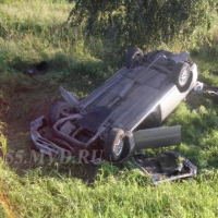 В Омской области в результате опрокидывания «Тойоты» погибла пассажирка