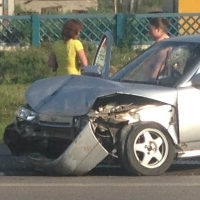 В Оконешниковском районе Омской области в аварии пострадал ребёнок