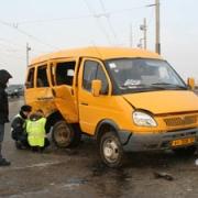 Три машины столкнулись на Левом берегу