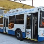 Омские троллейбусы с WiFi заработали 1 миллион за две недели