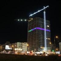 Омские стройки впервые украсят к Новому году