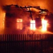 На севере Омской области женщина сгорела в своем доме