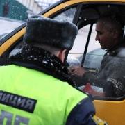 У омского водителя маршрутки забрали права на рейсе