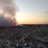 Регоператор заплатит 100 тысяч рублей за помощь в поимке поджигателя омской свалки