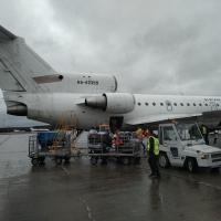 Самолет, летевший по маршруту Талакан – Омск–Уфа, аварийно посадили в Красноярске