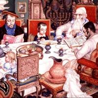 Омские иудеи отмечают Песах