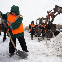 С начала зимы с улиц Омска вывезли около 470 тысяч кубометров снега