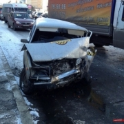 "В аварии у остановки ""Рабиновича"" пострадали пятеро"