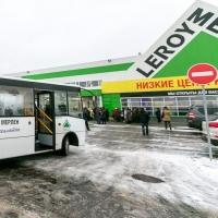 Строительный магазин запустил бесплатный автобус для омичей