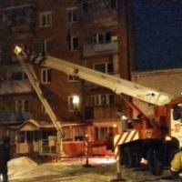В одной из многоэтажек Омска взорвался газ