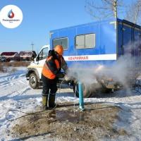 За три морозных дня омский водоканал отогрел 57 водоразборных колонок