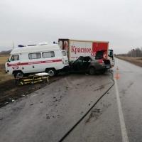 На трассе Омск-Тара погиб один из пассажиров машины «Датсун»