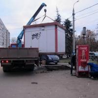 Впечатления от Омска двум президентам могут испортить нестационарные киоски