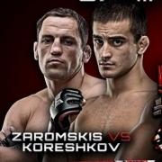 Омич Андрей Корешков побьется за выход в финал престижного турнира Bellator