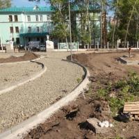 В Омске на деньги предприятий-спонсоров у больницы сделают фонтан
