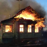 Двое пенсионеров погибли на пожаре в Омской области