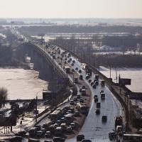 Въезд на Ленинградский мост в Омске снова станет беспрерывным
