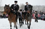 Омская полиция и казаки организуют патрули на омских улицах